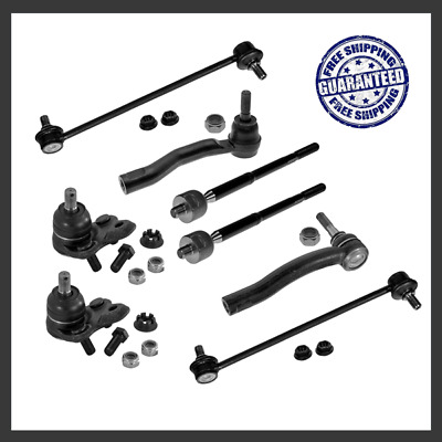 For 04-09 Toyota Prius Front Steering End Kit Tie Rod End Lower Ball Joint Link