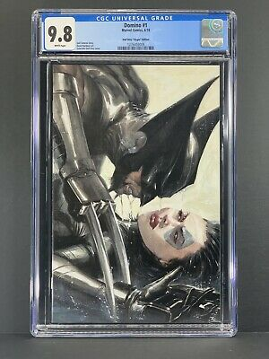 Domino # 1 CGC 9.8 Gabrielle Dell'Otto Virgin Edition Variant Cover Wolverine