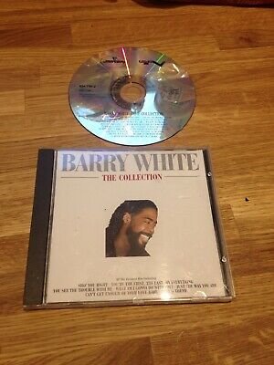 CD Music Album BARRY WHITE THE COLLECTION valentines love songs cd