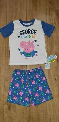 2bad99841a Mothercare PEPPA PIG - GEORGE Boys Pyjamas 4-5 years Kids Ready for Bed 2
