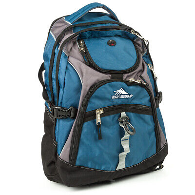 NEW High Sierra Access Laptop Backpack Navy