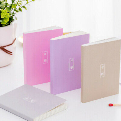 4 Colors Choose Mini Memo Books Ruled Notebook Notepads Cover Journal Diary LH