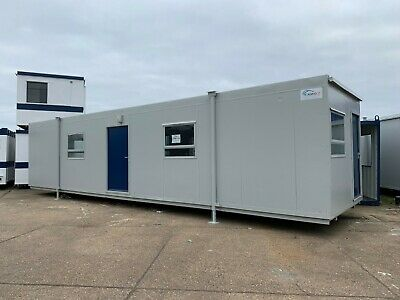 Portable Office, Portable Cabin, Site Office, Portable Building, 40 x 10 (2072)