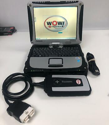 CAR DIAGNOSTIC WOW Wurth 2019 Panasonic CF19-MK3 Laptop Next day UK stock