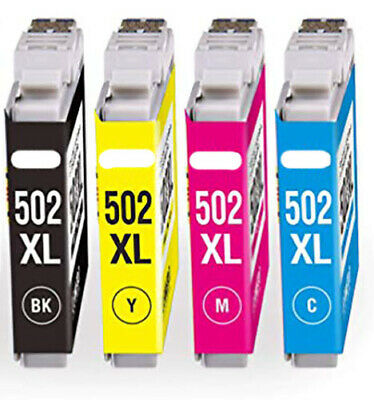 502XL Ink Cartridges For Epson XP5100 XP5105 WF2860 WF2865 Printers 502 Non OEM
