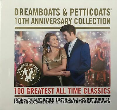 Dreamboats and Petticoats: 100 Greatest All Time Classics (4xCD) New Sealed