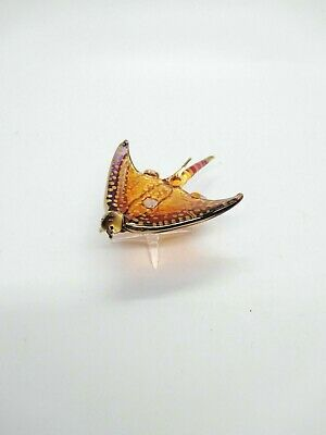 Sting Ray Glass blowing Have a stand Multi Color Collectibles Animals Gift