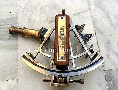 Nautical Solid Brass Navigational Working Sextant Vintage Style Replica Sextant