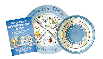 The Diet Plate® & Bowl FEMALE the Original Portion Control Weight Loss Diet,