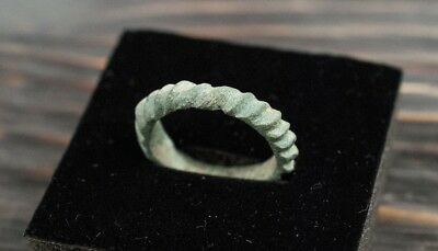 Ancient Ring Viking Age 10th-11th Century AD Nordic Jewelry Medieval Artifact