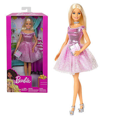 Barbie Happy Birthday Doll and Accessory Toy