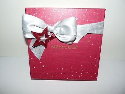 American Girl Doll Fancy Holiday Dress 2017 in Holiday Limited Ed Box NEW!!