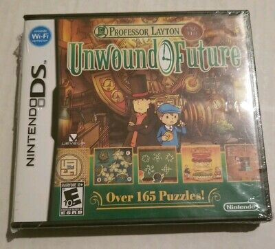 Professor Layton and the Unwound Future (Nintendo DS, 2010) Sealed Complete