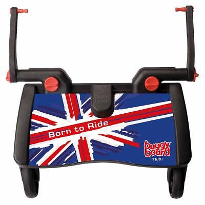 Lascal Olympic Union Jack Maxi BuggyBoard Child Ride On Stroller Board For Pram