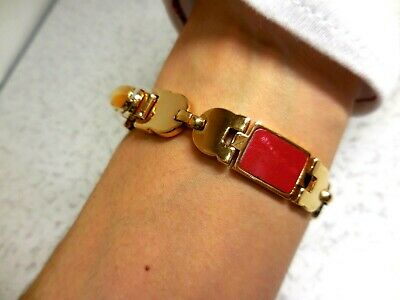Salvatore Ferragamo Gold Bangle Bracelet very good condition!!!