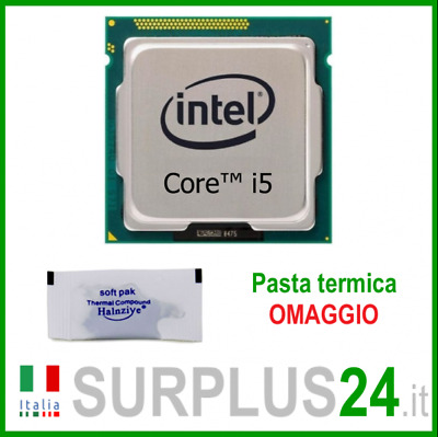 CPU INTEL Core i5-2500 SR00T 3.30 GHZ 6M Socket LGA 1155 Processore i5