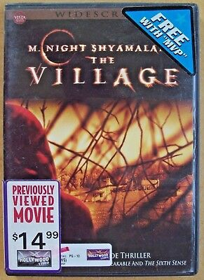 M. Night Shyamalan's THE VILLAGE (DVD, Widescreen) Previously Viewed