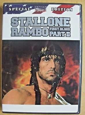 RAMBO -First Blood Part II- Special Ed. DVD - Sylvester Stallone, Richard Crenna