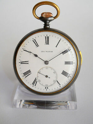 ITO WATCH REPETITION 1/4, žepna ura, Taschenuhr, pocket watch #18-17.03
