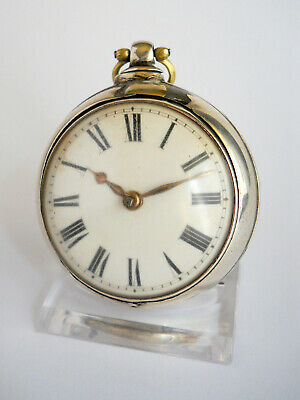 LONDON WATCH, ca. 1865, žepna ura, verge fusee, Spindeluhr, #18-56.01