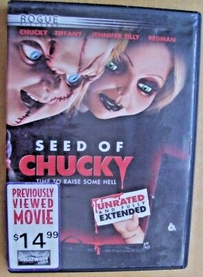 Seed of Chucky (DVD, 2005, Widescreen) Unrated & Fully Extended) Jennifer Tilley