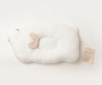 "Baby Mio Certified Organic Cotton Sheep Pillow 13"" x 9"" Infant Baby (Flat Head)"