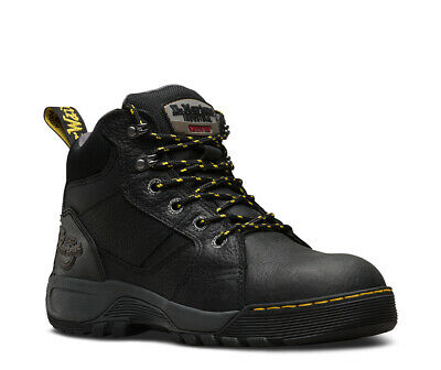 DR MARTENS Grapple SB black steel toe cap safety boot (code 6934) size 3-13