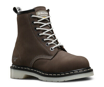 DR MARTENS Maple SB grey ladies lace-up safety boot (code 6701) size 3-9