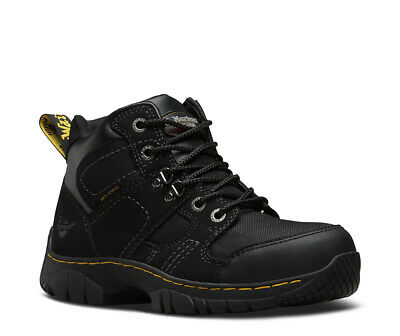 DR MARTENS Benham black S1P safety boot with midsole size 3-13