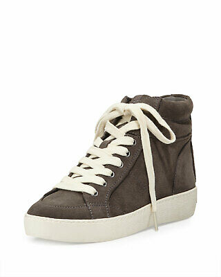 43436f61ab14 SAM EDELMAN BRITT High Top Sneakers sz 8.5 (fits 9) Navy Blue ...