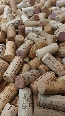 100 used wine corks all natural cork from red & white wines High Quality