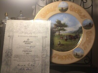 Seltmann Weiden Collector's plate with certificate