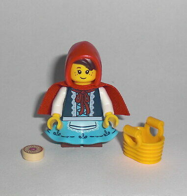 idea045 LEGO Ideas Little Red Riding Hood Minfigure from 21315 with Basket