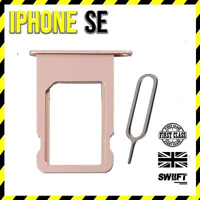 NEW iPhone SE | Sim Card Tray Holder Replacement | Rose Gold