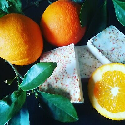 Zesty Orange Peel Soap
