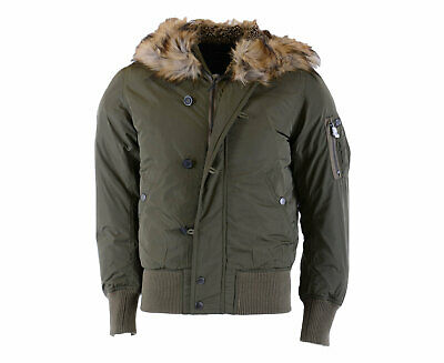 87ef4d0d93c DIESEL W UNRESTY Mens Jacket Size XL Puffer Olive Quilted Coat ...