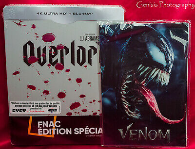 Overlord Steelbook 4K UHD + Blu Ray France Fnac exclusive + Marvel Art Cards NEW