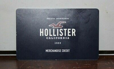 Hollister Merchandise Credit / Gift Card $332.51