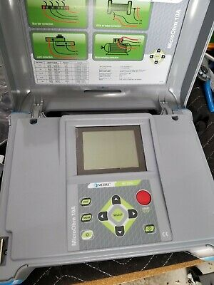 Metrel MI 3250 10A Low Resistance Ohmmeter DLRO 10A Micro-ohm meter 10A ductor
