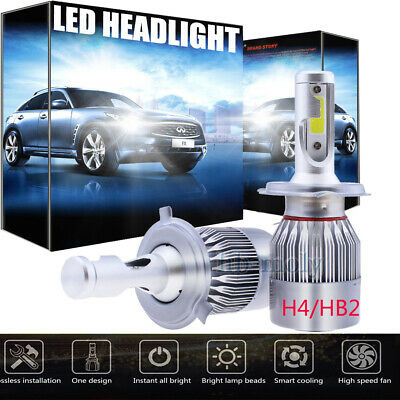 For Citroen C1 2005-2014 Side//Low//High Beam 501 H4 H4 Xenon Headlight Bulbs