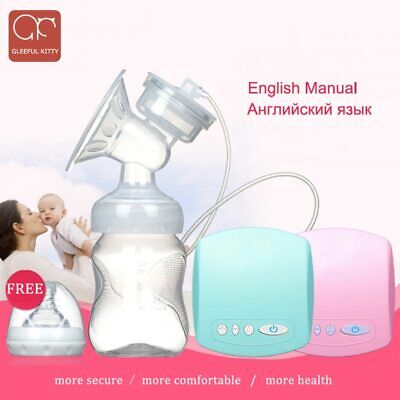 Christmas 2019 Intelligent Automatic Electric Breast Pumps Nipple Suction Milk