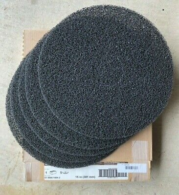 """3M 08273 High Productivity Stripping Pad 7300, 15"""" Machine Use (Case of 5)"""