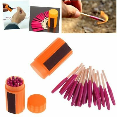 Outdoor Survival Tool Windproof Waterproof Matches Fire Starters Camping Hiking