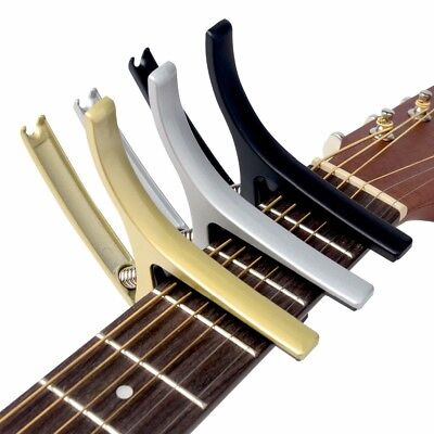 Econ & Practical Meideal Acoustic Electric Classical Guitar Capo-Solid Alloy