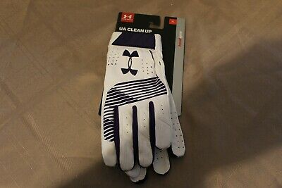 Under Armour UAClean UpBatting Gloves 1299530-500 Mens Size XL NWT