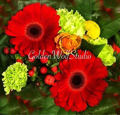 Digital Photo Picture Image - Bouquet 3 - Free Shipping