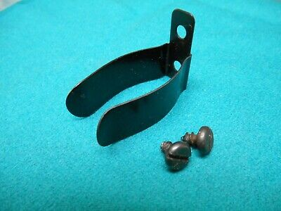 Vintage Singer 221 Sewing Machine Oil Can Bracket with mounting screws GUC