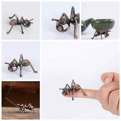 Retro Bronze Chinese style Copper Fengshui Wealth Animal ant Statue