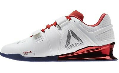 c5ad831f REEBOK MENS LEGACY Lifter Weightlifting Shoe Size 11.5 Red/White/Blue  Crossfit