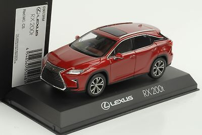Lexus RX 200t F Sport red mica Crystal toyota 1:43 Kyosho DIECAST
